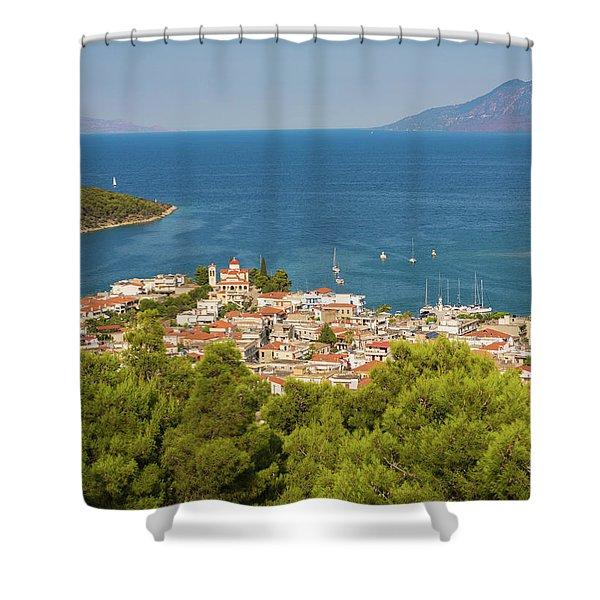 Palaia Epidavros Also Known As Archaia Shower Curtain