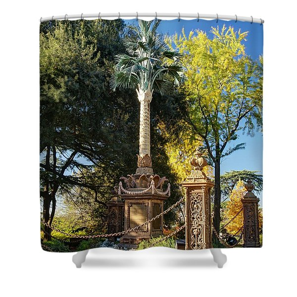 Palmetto Regiment Monument  Shower Curtain