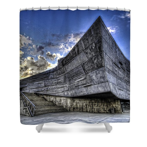 Perot Museum  Shower Curtain