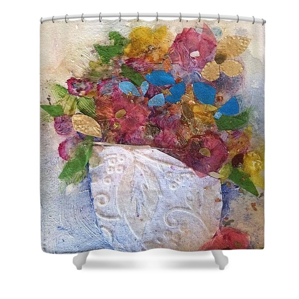 Petals And Blooms Shower Curtain