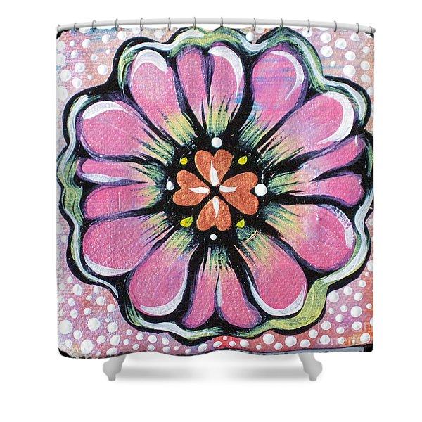 Petit Flower Shower Curtain