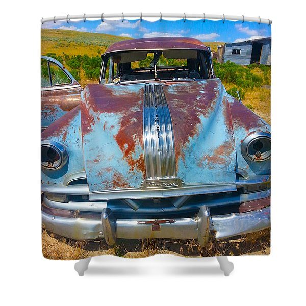 Pontiac Blues Shower Curtain