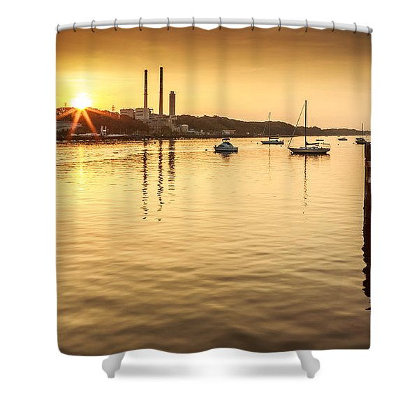 Port Jefferson Shower Curtain