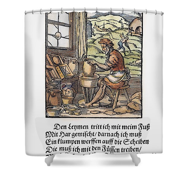 Potter, 1568 Shower Curtain