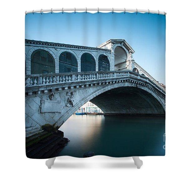 Rialto Bridge Venice Italy Shower Curtain