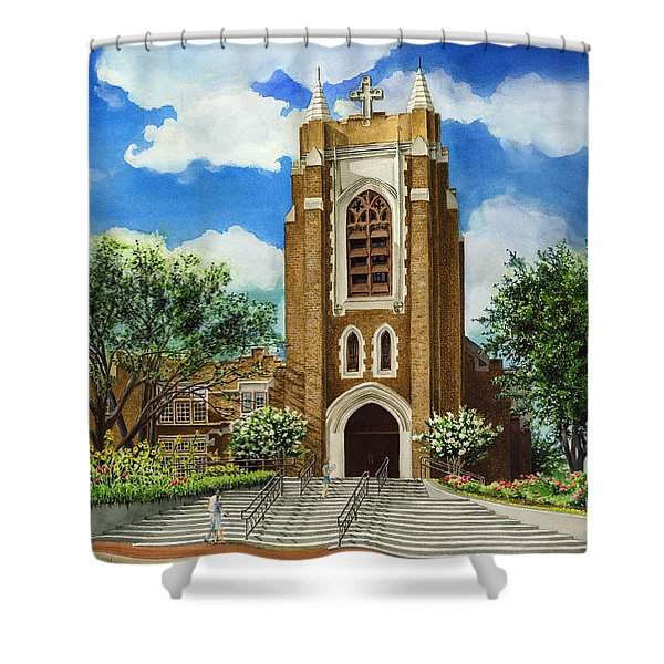 Saint Andrews Episcopal Church Bryan Texas Shower Curtain