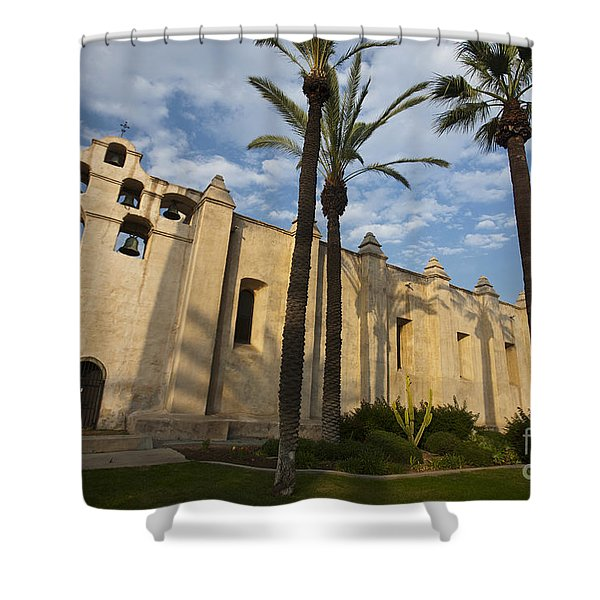 San Gabriel Mission Shower Curtain