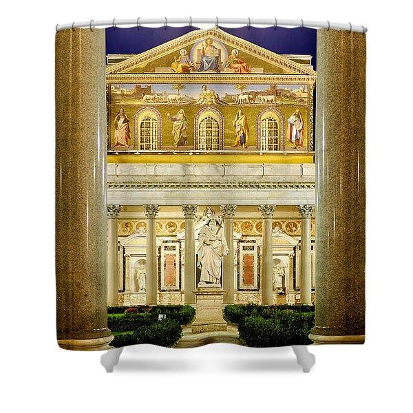 San Paolo Fuori Le Mura Shower Curtain