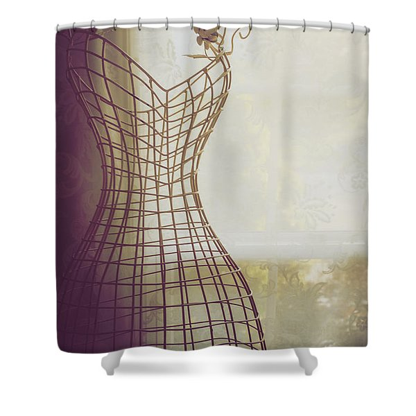 Shaded Shower Curtain