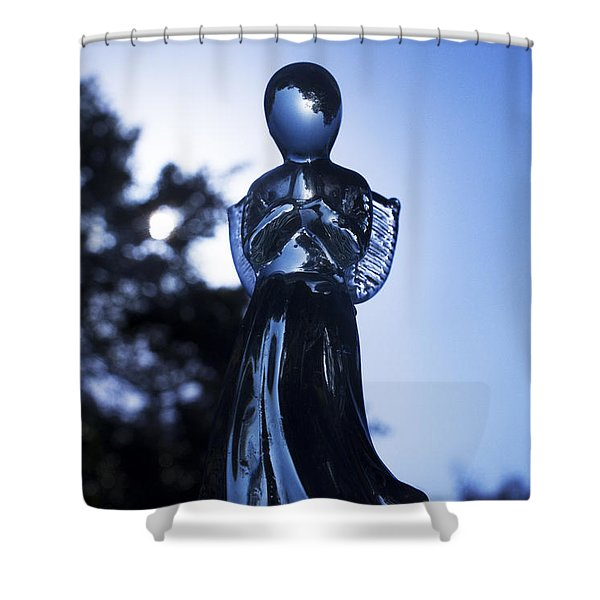 Shadows From Heaven Shower Curtain