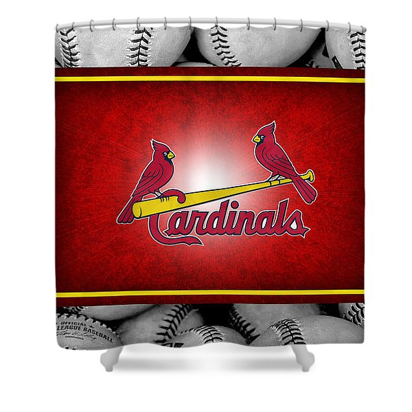 St Louis Cardinals Shower Curtain