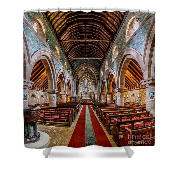 St Mary Shower Curtain