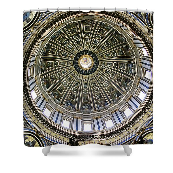St. Peter's Basilica Dome Shower Curtain