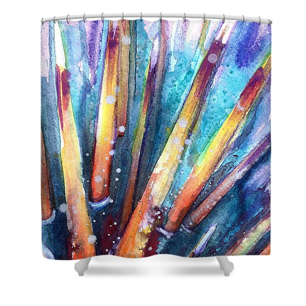 Spine Of Urchin Shower Curtain