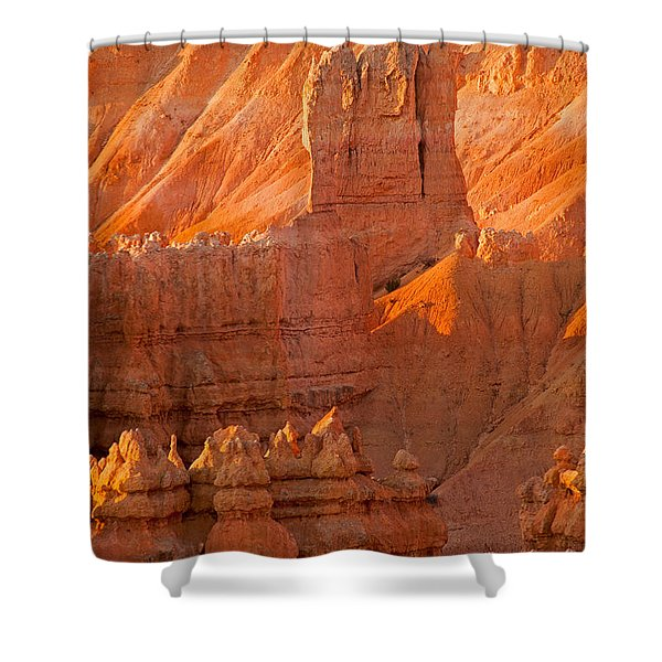Sunrise At Sunset Point Bryce Canyon National Park Shower Curtain