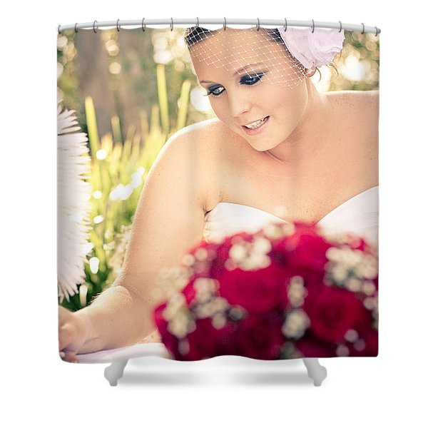 Taking Marriage Seriously Shower Curtain
