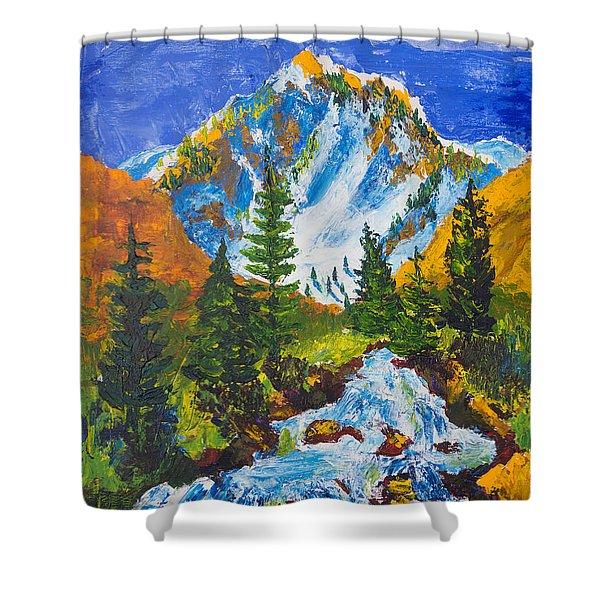 Taylor Canyon Run-off Shower Curtain