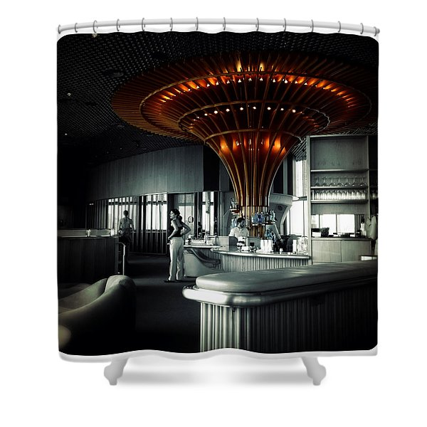 The Bar Shower Curtain