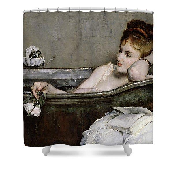 The Bath Shower Curtain