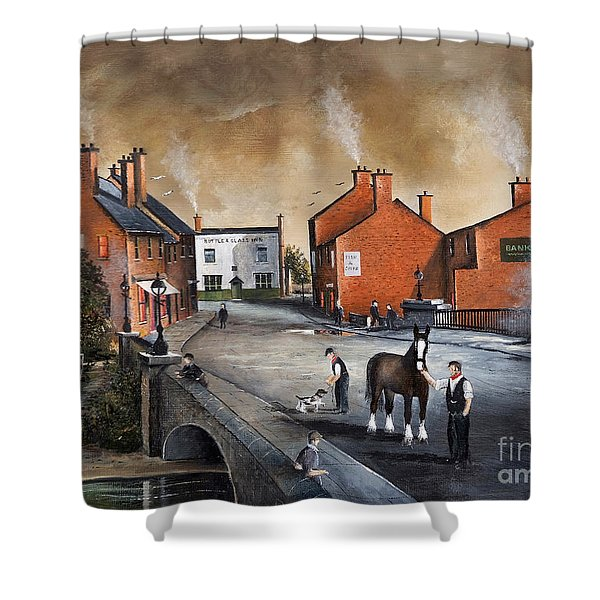 The Blackcountry Village Shower Curtain