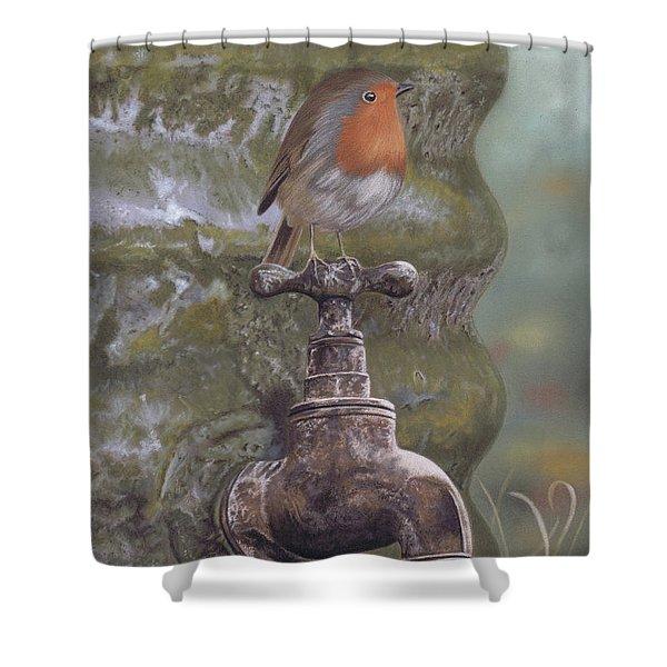 The Constant Gardener Shower Curtain