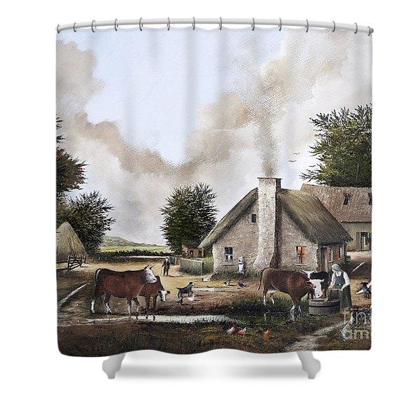 The Farmyard Shower Curtain