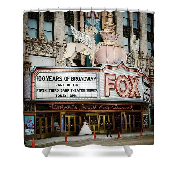 The Fox Theatre Shower Curtain