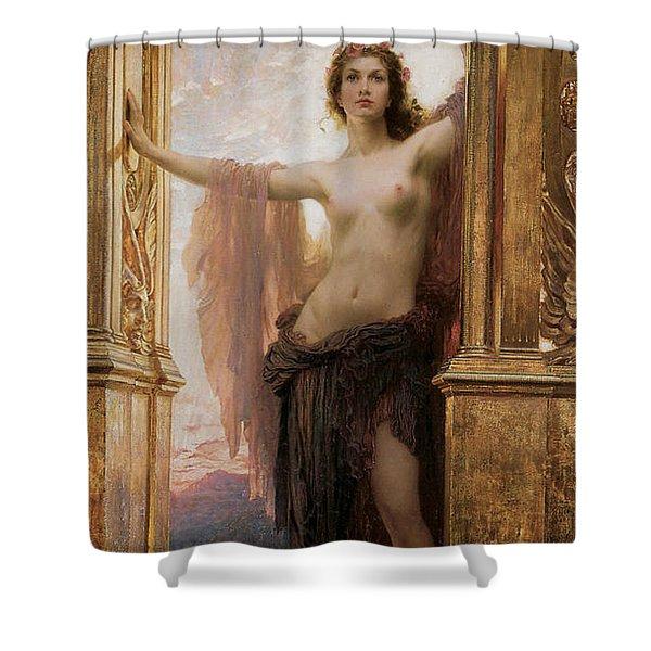The Gates Of Dawn Shower Curtain