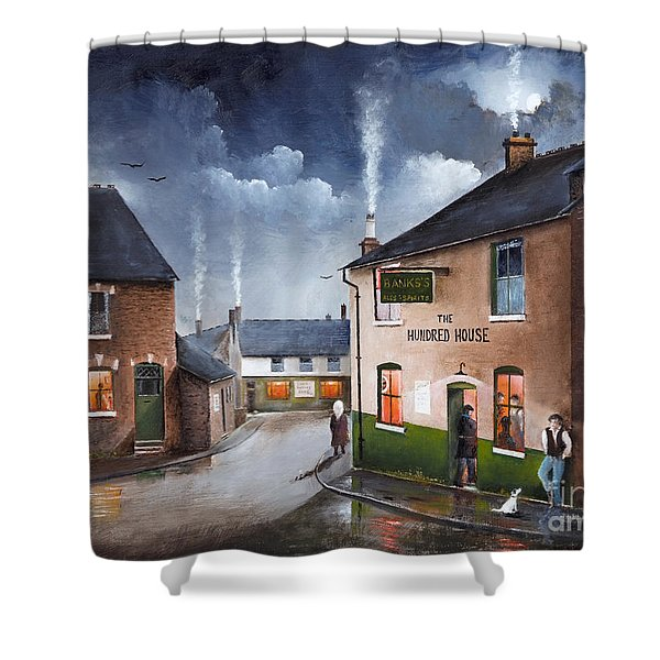 The Hundred House - Lye Shower Curtain