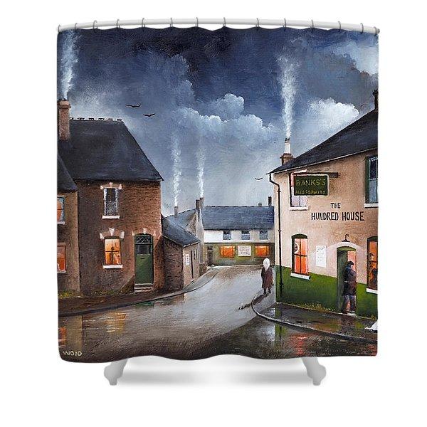 The Hundred House - Lye Shower Curtain