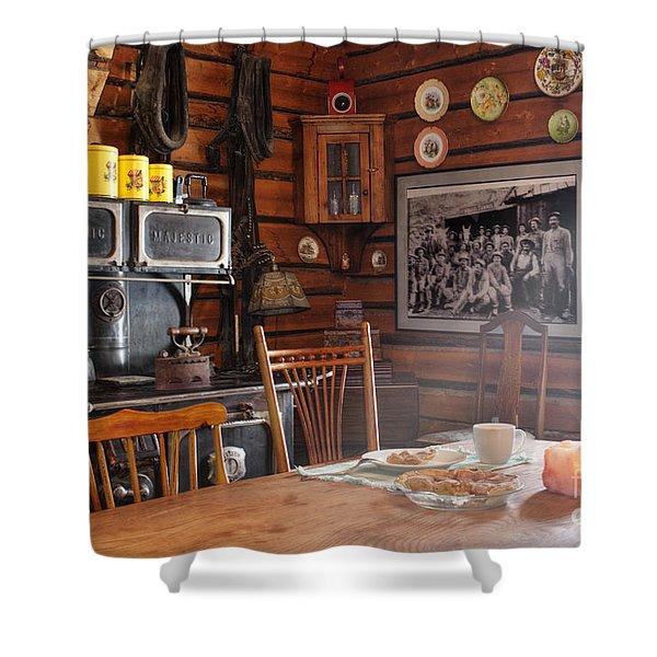 The Kitchen Shower Curtain