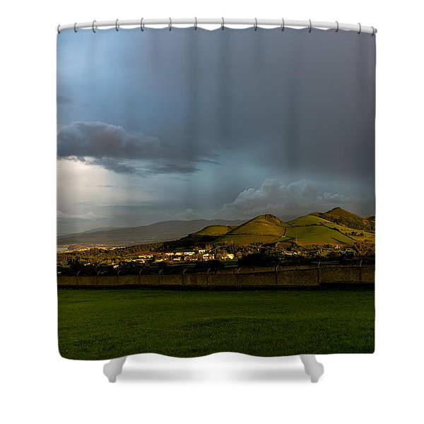 The Light Of Heaven Shower Curtain