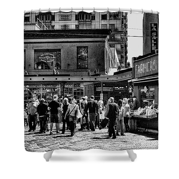 The Market At Pike Place Shower Curtain