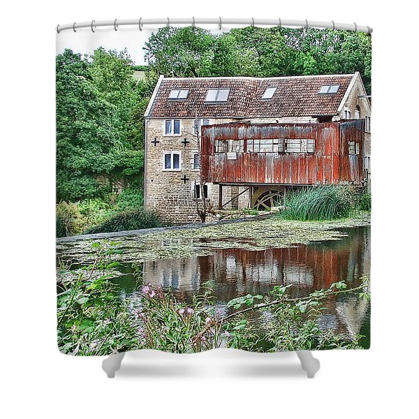 The Old Mill Avoncliff Shower Curtain