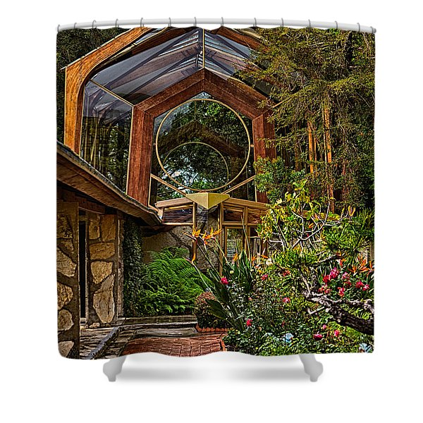 The Wayfarers Chapel Shower Curtain