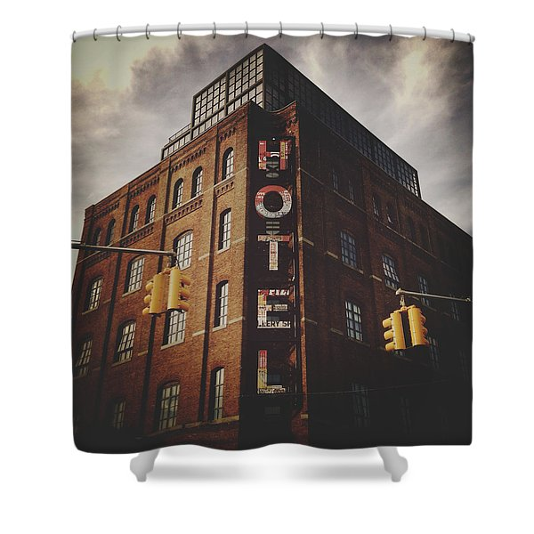 The Wythe Hotel Shower Curtain