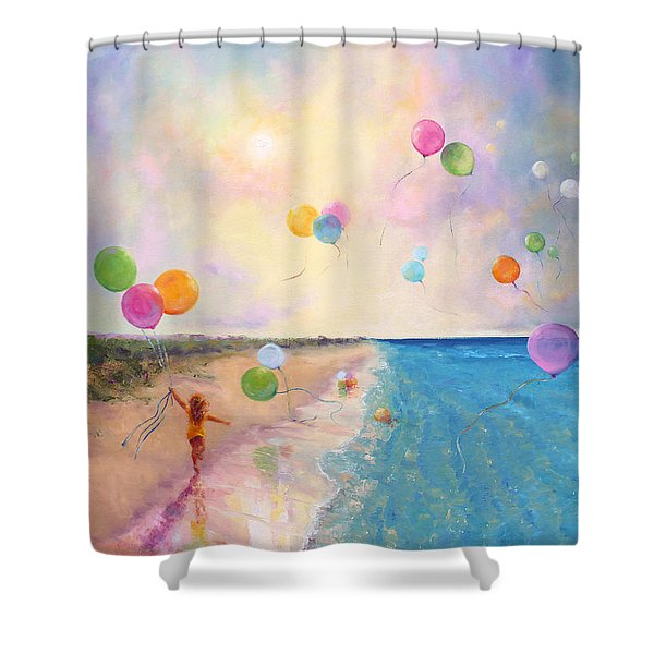 Tide Of Dreams Shower Curtain