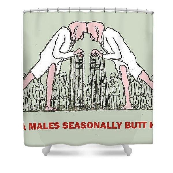 Tis The Season Shower Curtain