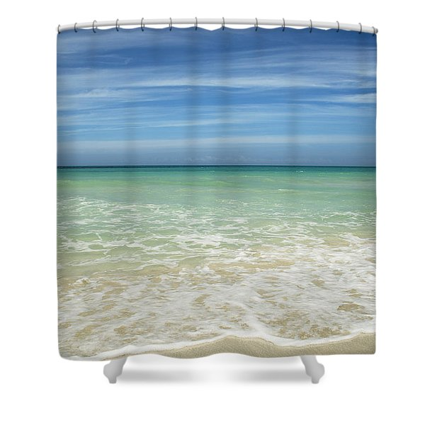 Tropical Ocean Beach Shower Curtain