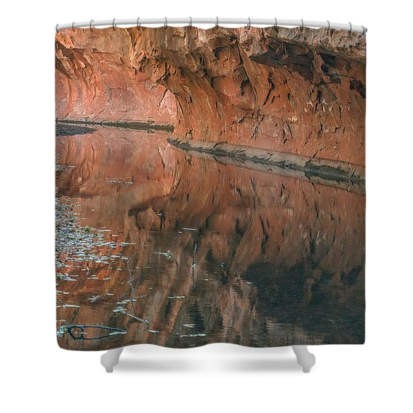 West Fork Reflection Shower Curtain