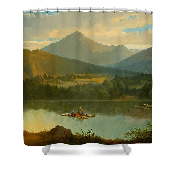 Western Landscape Shower Curtain