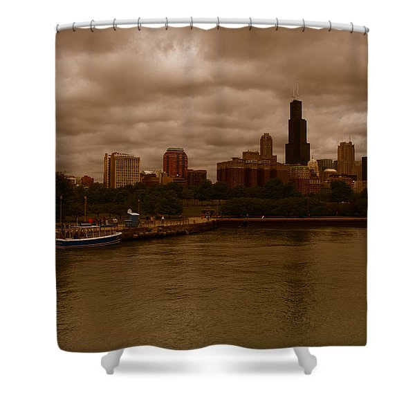 Windy City Shower Curtain