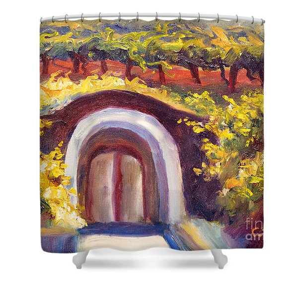 Wine Cave Shower Curtain