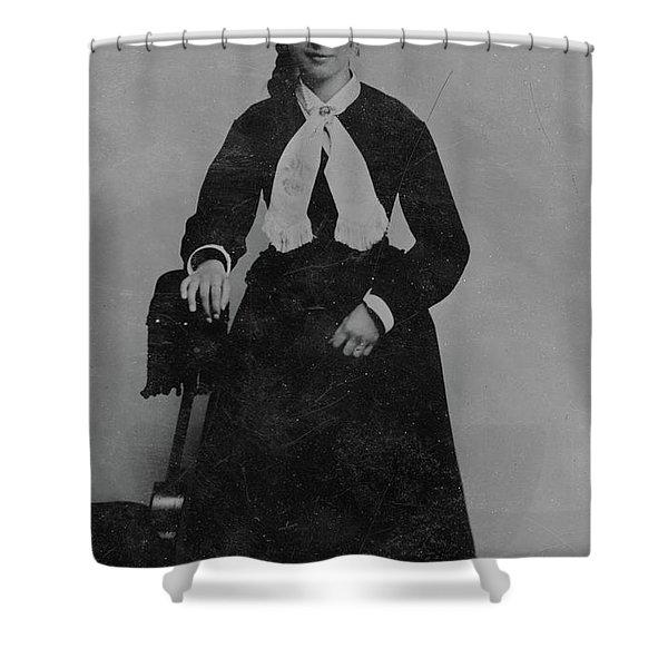 Woman, C1890 Shower Curtain