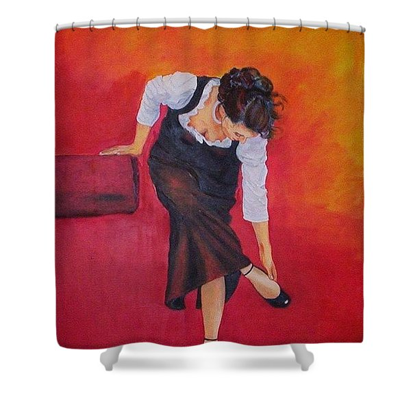 Zapatos I Shower Curtain