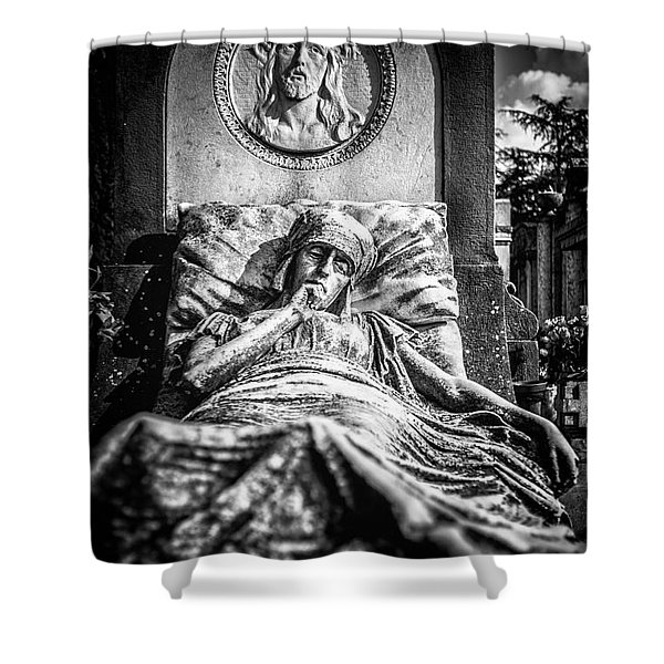Cemetery Of Mantova Shower Curtain
