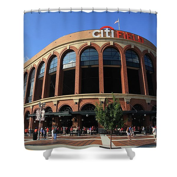 Citi Field - New York Mets 3 Shower Curtain
