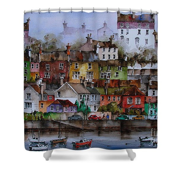 107 Windows Of Kinsale Co Cork Shower Curtain