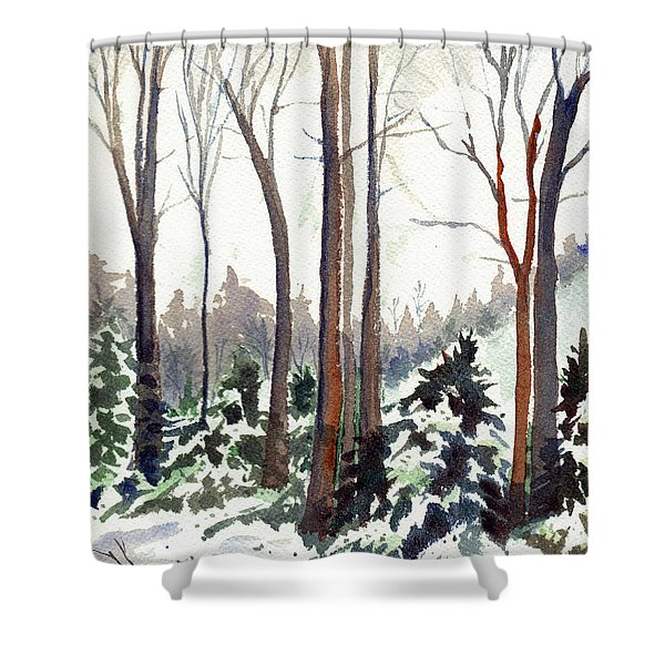 12 Below Shower Curtain