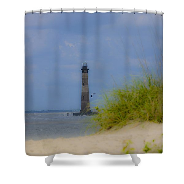 Wood View Shower Curtain